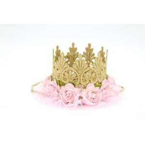 Lace Crown Gold Ballerina