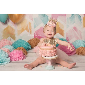 Lace Crown First Birthday