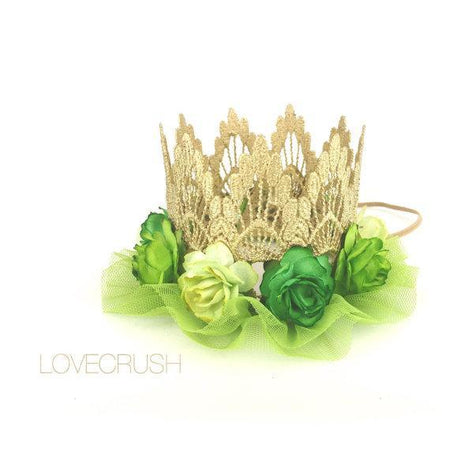 Lace Crown Tinkerbell