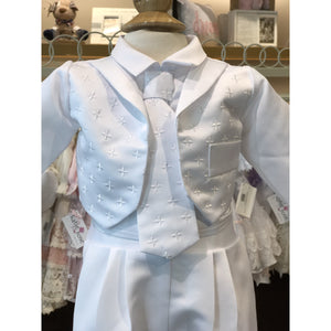 Sweetie Pie Boys Christening Suit