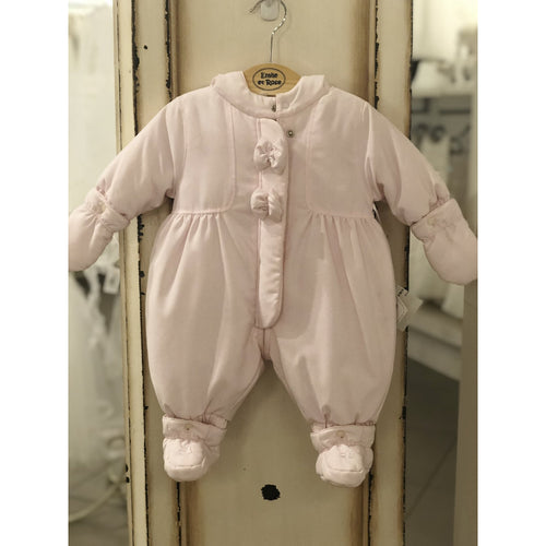 Emile Et Rose Pink Snowsuit