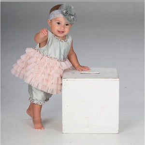 Dupioni Silk Bloomer Set