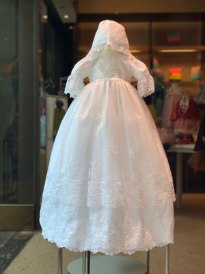 Sweetie Pie Tiered Christening Gown