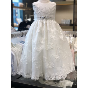 Sweetie Pie Lace Ivory Dress