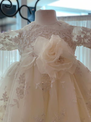 Custom Couture Ivory Gown