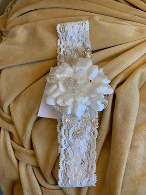Couture Flower Lace Headband