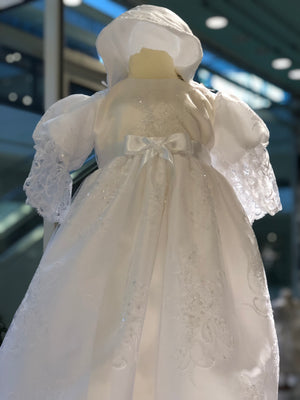 Sweetie Pie Lace Christening Gown