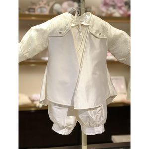 Piccolo Bacio Richard Romper and Coat