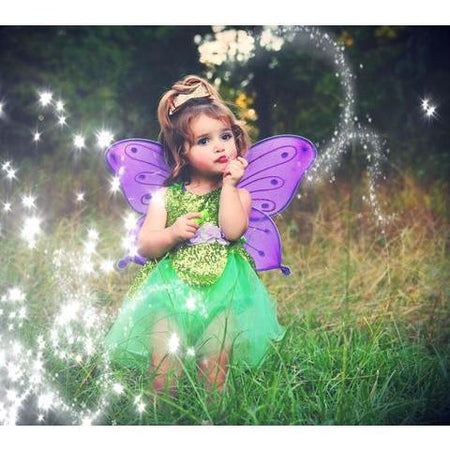 Belle Threads Green Sparkle Fairy