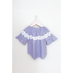 Maeli Rose Floral Lace Bell Sleeve