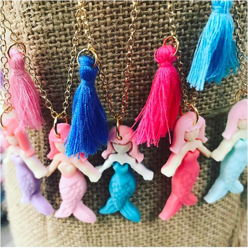 Little Miss Zoe Mermaid Necklace
