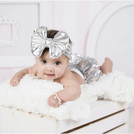 Bari Lynn Metallic Headband