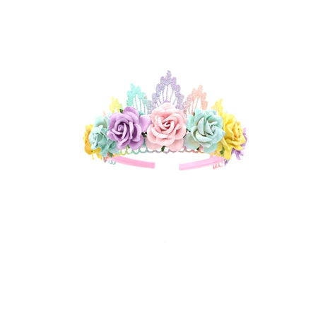 Love Crush Crowns Pastel Rainbow Tiara
