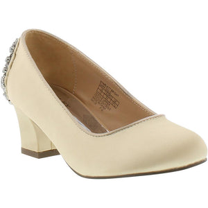 Badgley Mischka Starlett Satin Pumps