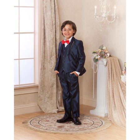Bijan Kids Navy Suit