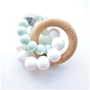 Trinity Teether in Mint