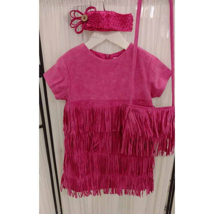 Cach Cach Twirly Fringe Dress