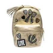Hannah Banana Backpack in Distressed Gold