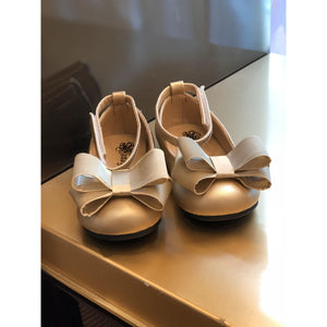 Double Bow Ballerina Flat