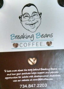 Breaking Beans Coffee, Monroe, Michigan