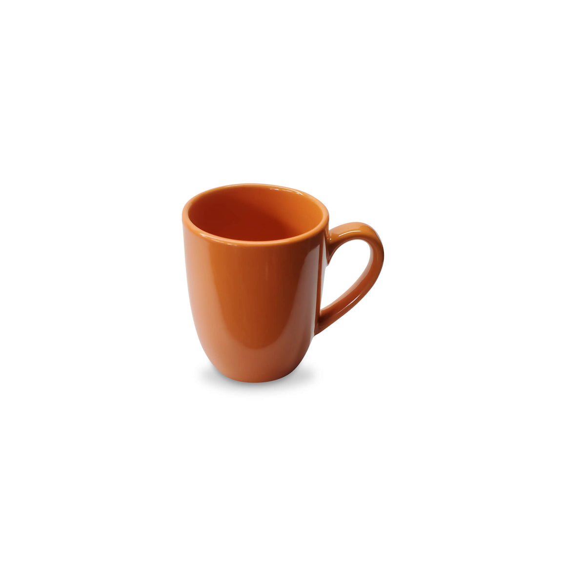 Yesterday's Mug | Gently Used, Orange Porcelain Mug