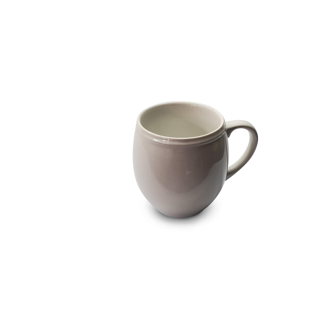 Yesterday's Mug | Gently Used, White Porcelain Mug