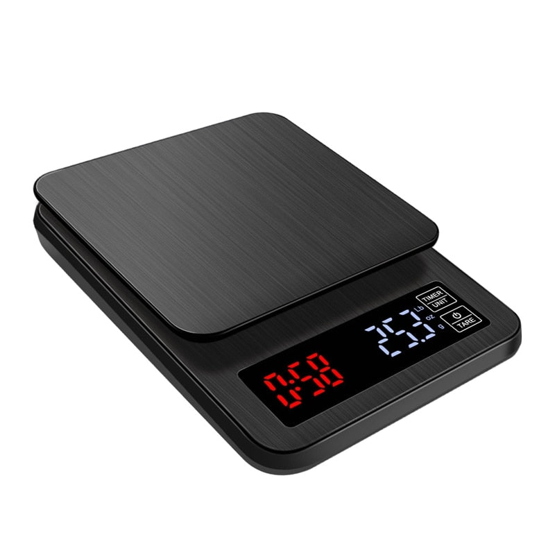 LCD Digital Coffee Scale w/ Timer