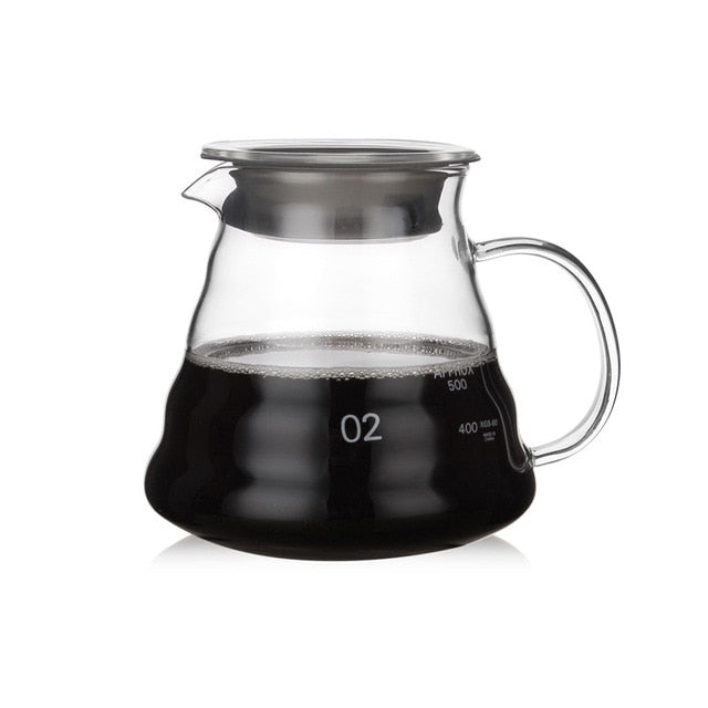 Glass Coffee Serving Decanter |  350ml 600ml or 800ml