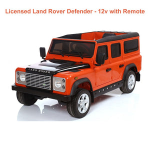 Kids Landrover Ride On Car