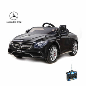 Mercedes-Benz S63 Ride On Car
