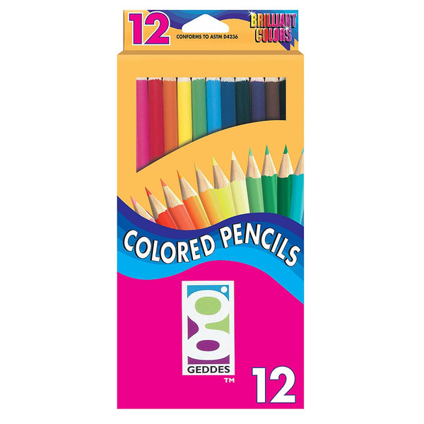 Geddes Brilliant Colored Pencils
