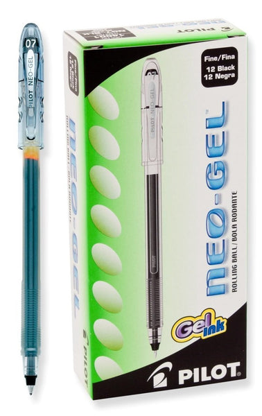 PILOT Neo-Gel Stick Roller Ball Pens