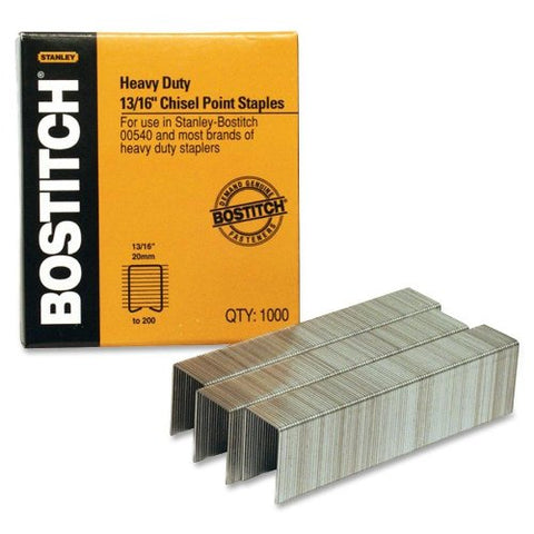 Bostitch 13/16'' Heavy Duty Staples