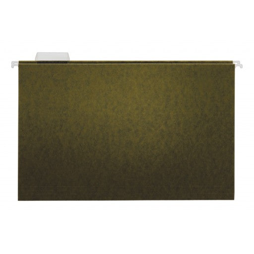 Tops Standard Green Hanging Folders 1/5 Cut