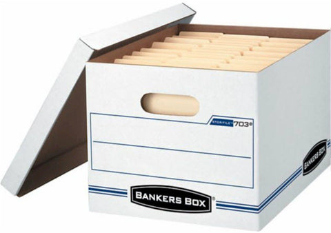 Fellowes 703 letter/legal Bankers-Storage Box