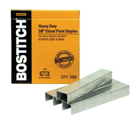 Bostitch 3/8'' Heavy Duty Staples
