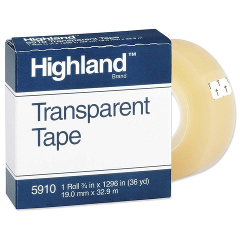 Highland0 5910 Transparent Tape