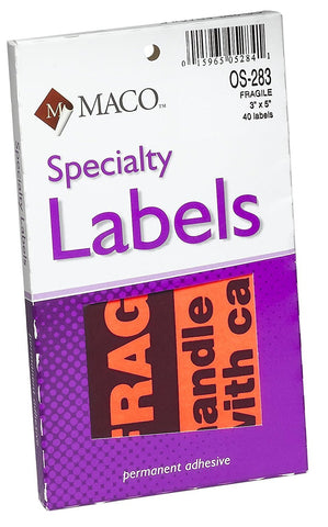 MACO Specialty Labels
