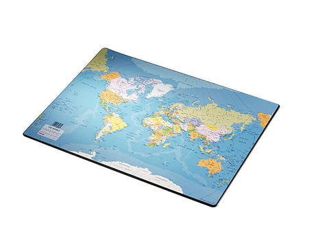 Esselte World Map Desk Mat Europost Range
