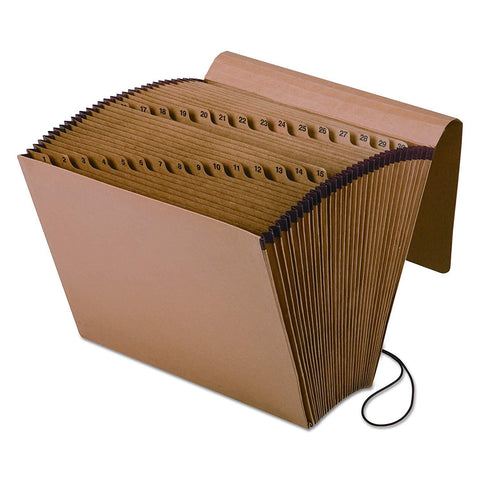 Pendaflex 1 to 31 Kraft Expanding File with Flap and Elastic Closure
