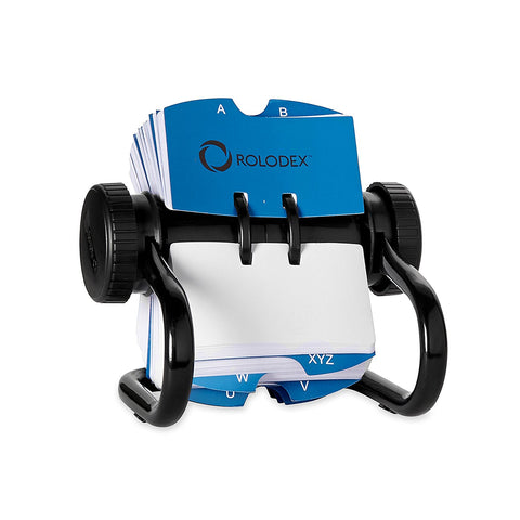 Rolodex Rotary Card File