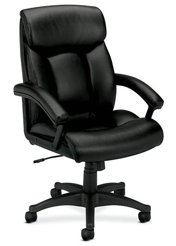 Basyx by HON HVL151 Leather High Back Executive Chair