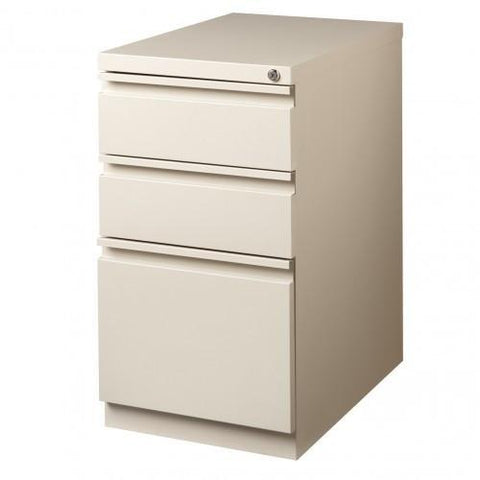 Mayline 3-Drawer Pedestal Letter/Legal File Cabinet
