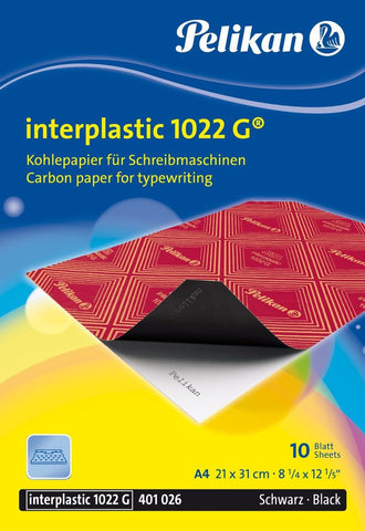 Pelikan Interplastic 1022G Carbon Paper for Typewriting