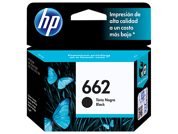 HP 662 Black Original Ink Cartridge