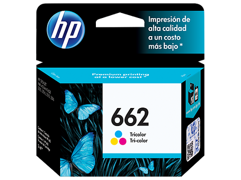 HP 662 Color Original Ink Cartridge