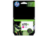 HP 670 XL Series Original Ink Cartridge