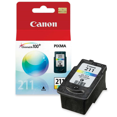 Canon CL-211 Color Original Ink Cartridge