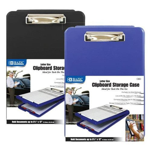 Bazic Letter Size Clipboard Storage Case