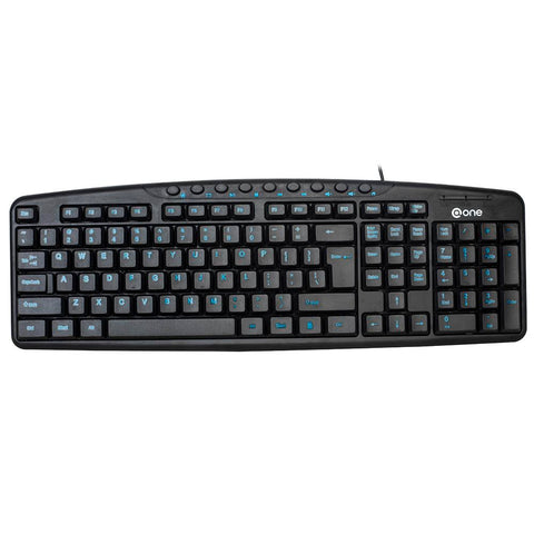 @ONE EK-612E USB Wired Multimedia Keyboard